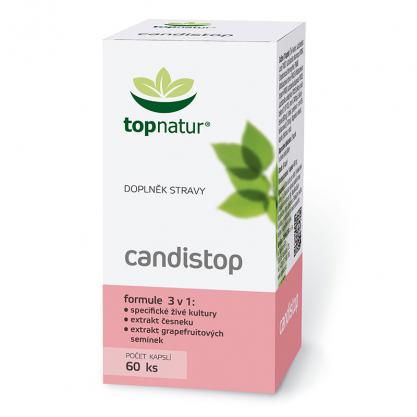 CANDISTOP Topnatur 60 kapsul (33g)