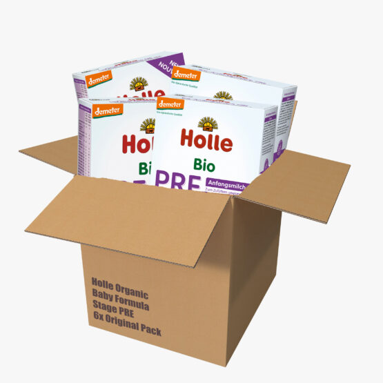 PRE začetno mleko BIO-DEMETER z DHA originalno pakiranje 6x