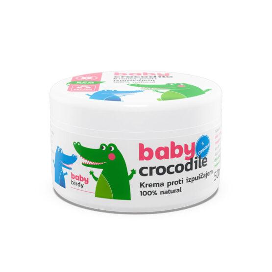 BabyCrocodile Krema proti izpuščajem 50ml