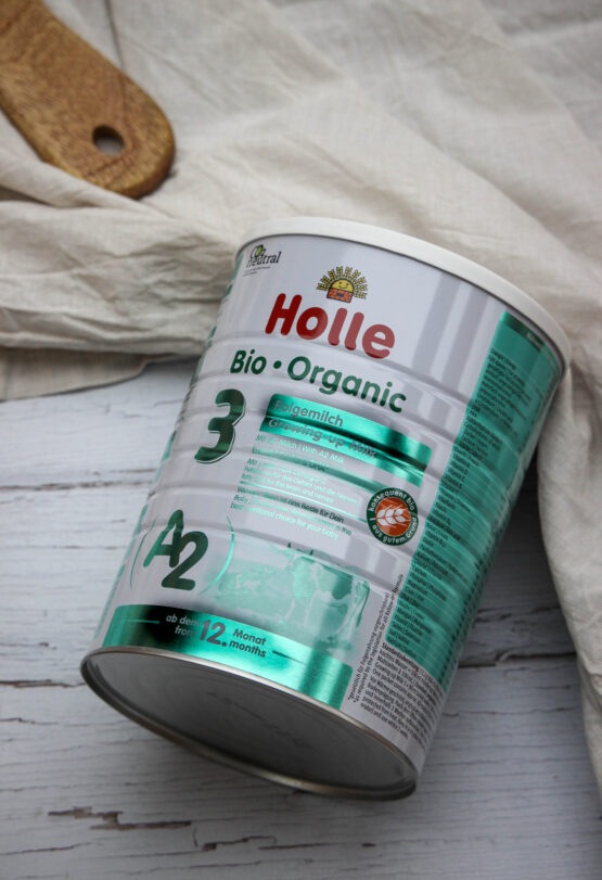 Holle A2 mleko za dojenčke 3 z DHA, BIO 800g