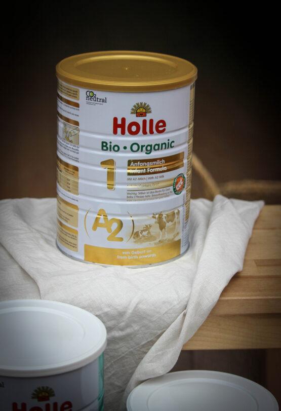 Holle začetno A2 mleko za dojenčke 1 z DHA, BIO 800g