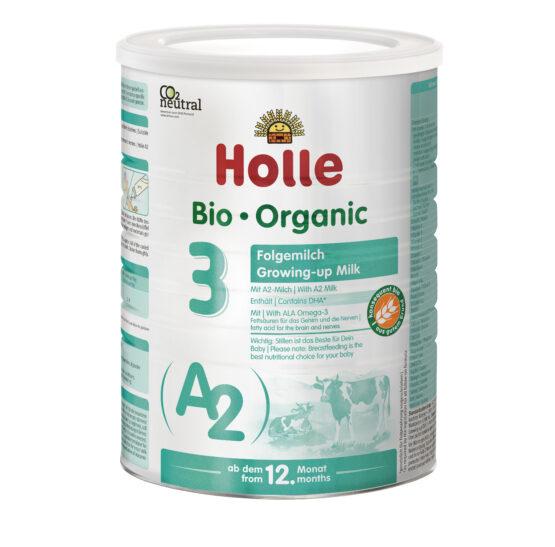 Holle A2 mleko za dojenčke 3, BIO 800g