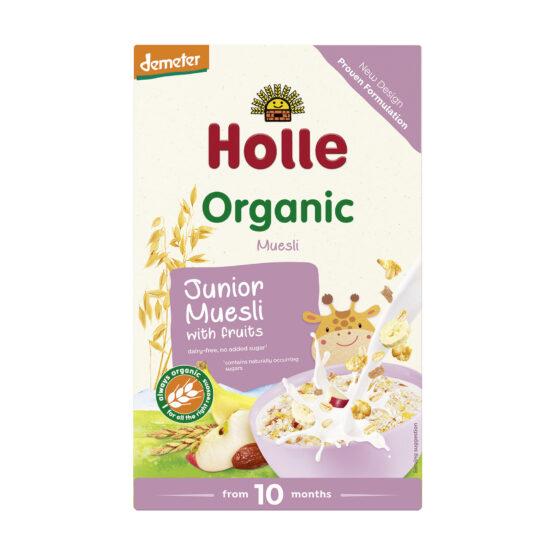Junior večzrnata žitna kašica s sadjem po 10. mesecu HOLLE, BIO-DEMETER 250g