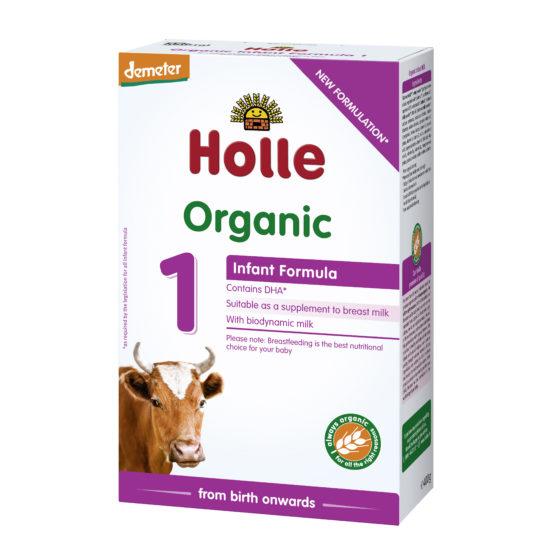 Začetno mleko Holle za dojenčke 1, BIO-DEMETER