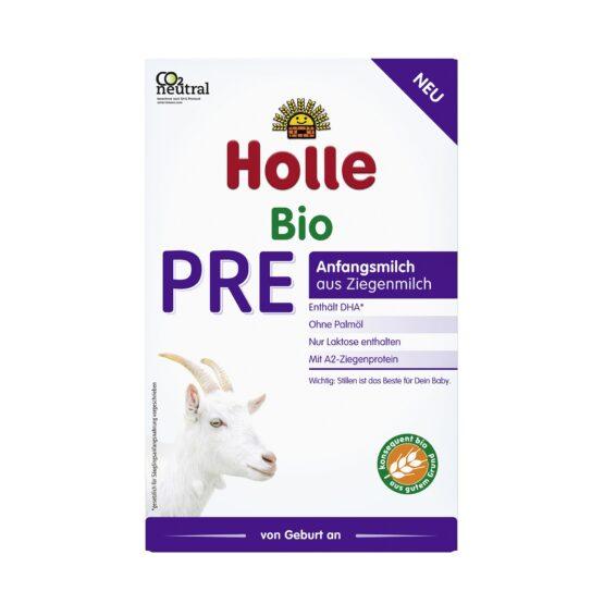 Holle začetno mleko PRE za dojenčke na bazi kozjega mleka z DHA