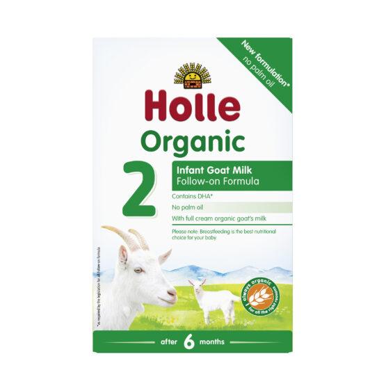 Nadaljevalno mleko 2 za dojenčke na bazi kozjega mleka z DHA