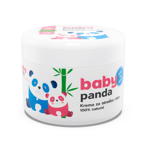 BabyPanda Krema za otroško ritko 100ml