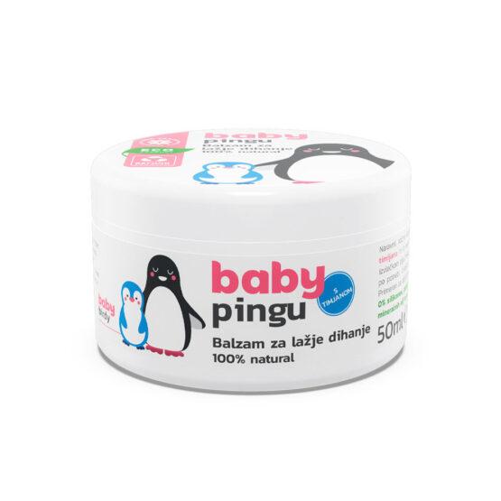 BabyPingu Balzam za lažje dihanje 50ml