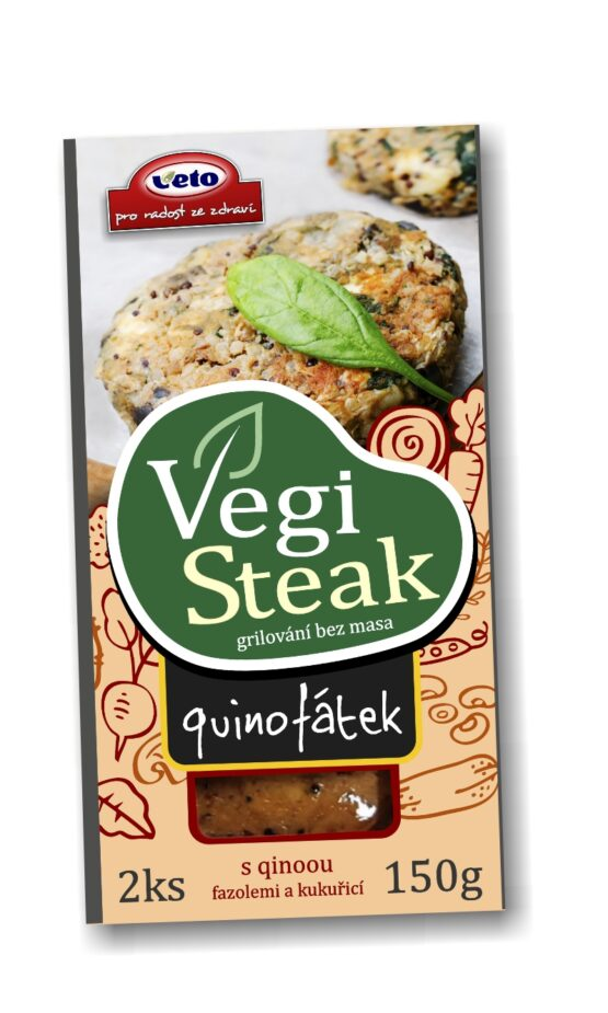 VEGANSKI STEAK KVINOJA Veto Eco 150g