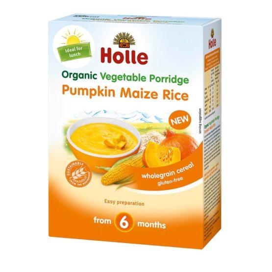 Bio žitna kaša buča koruza in riž Holle.