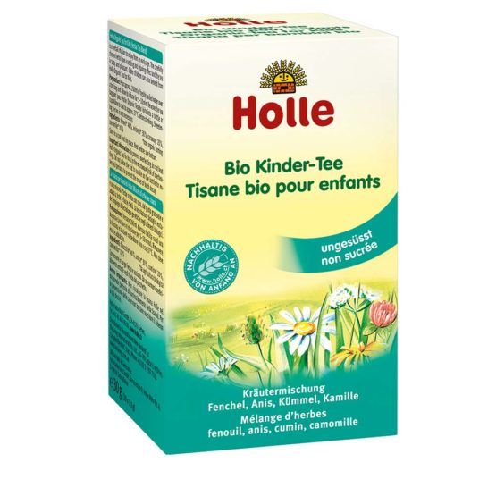 Čaj za dojenčke nad 4 mesecom Holle.