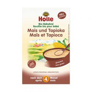 Bio kaša tapioka-koruza-riž - Holle baby food
