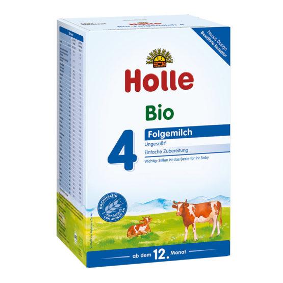 Holle kravje mleko za dojenčke nadaljevalno 4.