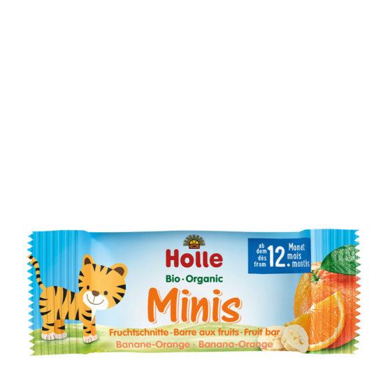 Holle sadne ploščice za otroke - pomaranča in banana.