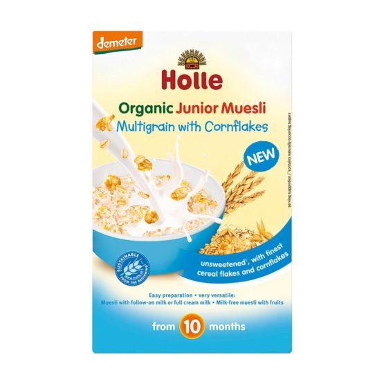 Bio – Junior večzrnata žitna kašica Cornflakes