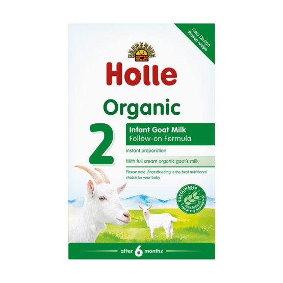 Nadaljevalno mleko 2 za dojenčke na bazi kozjega mleka