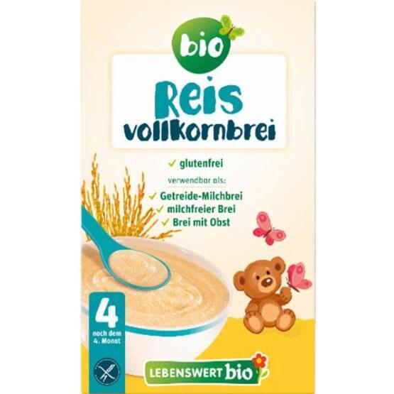 Kaša riževi kosmiči po 4. mesecu Lebenswert 225g