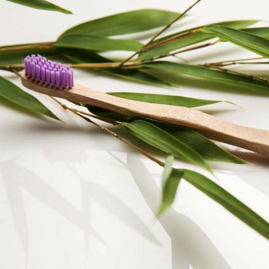 Lesena bambus zobna ščetka BeFresh.
