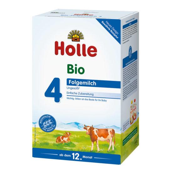 Mleko v prahu za malčke Holle 4.