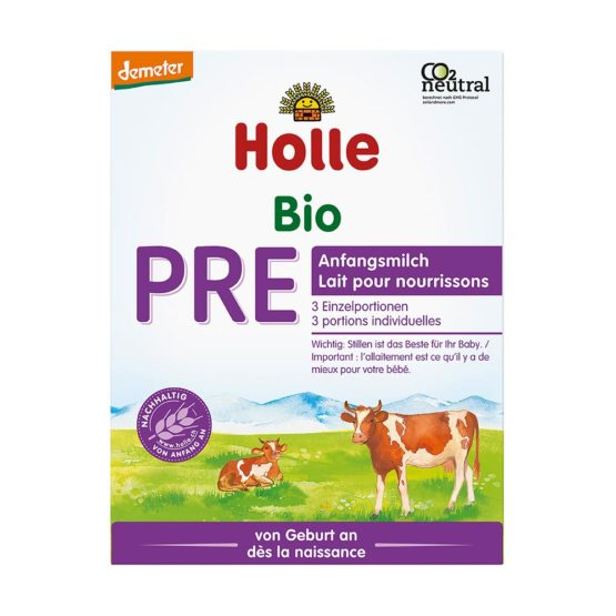 Krajši rok uporabe: 31.10.2021 Začetno mleko za dojenčke PRE – mali, DEMETER 3x20g