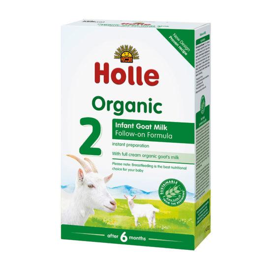 Nadaljevalno bio mleko za dojenčke Holle.