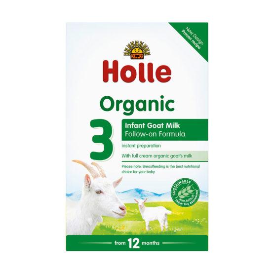 Nadaljevalno mleko 3 za dojenčke na bazi kozjega mleka