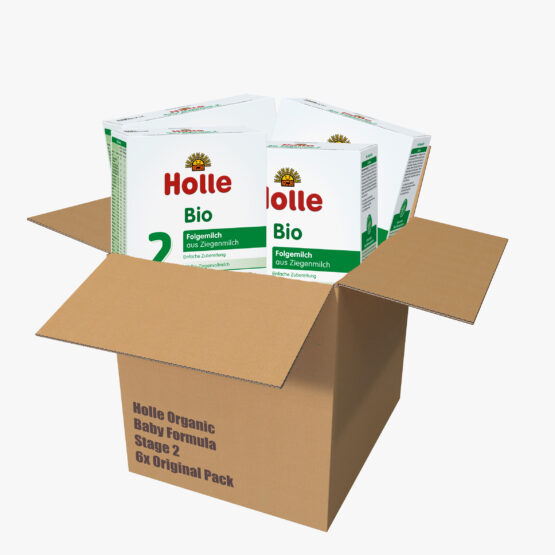 Nadaljevalno mleko 2 za dojenčke na bazi kozjega mleka z DHA originalno pakiranje 6x