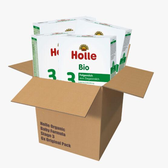 Nadaljevalno mleko 3 za dojenčke na bazi kozjega mleka z DHA originalno pakiranje 6x