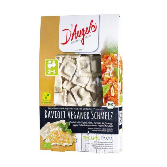Testenine ravioli z veganskim sirom D'Angelo 250 g