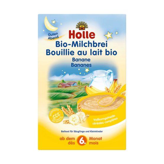 Bio bananina-mlečna kaša